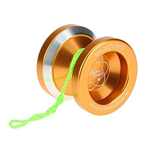 GoolRC マジックヨーヨー Magic Yoyo N8 アルミ合金 メタル 8ボール KK ベアリング ヨーヨー スピニング ストリング付 おもちゃ ホビー