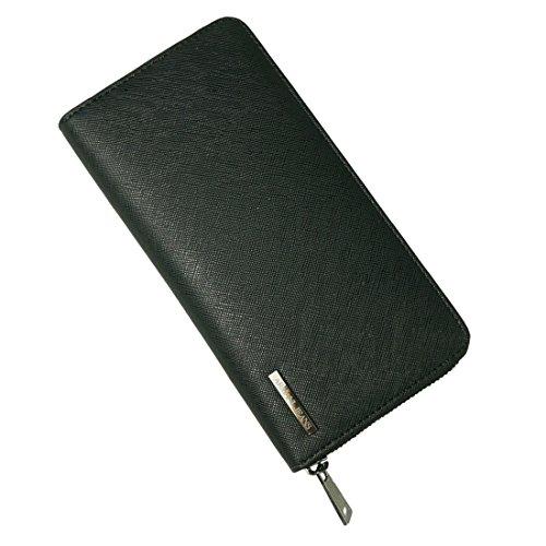 (アルマーニジーンズ)ARMANI JEANS 財布 ラウンドファスナー 長札入れ サフィアーノタイプ 938542-CC991-00020 NERO(ブラック) [並行輸入品]