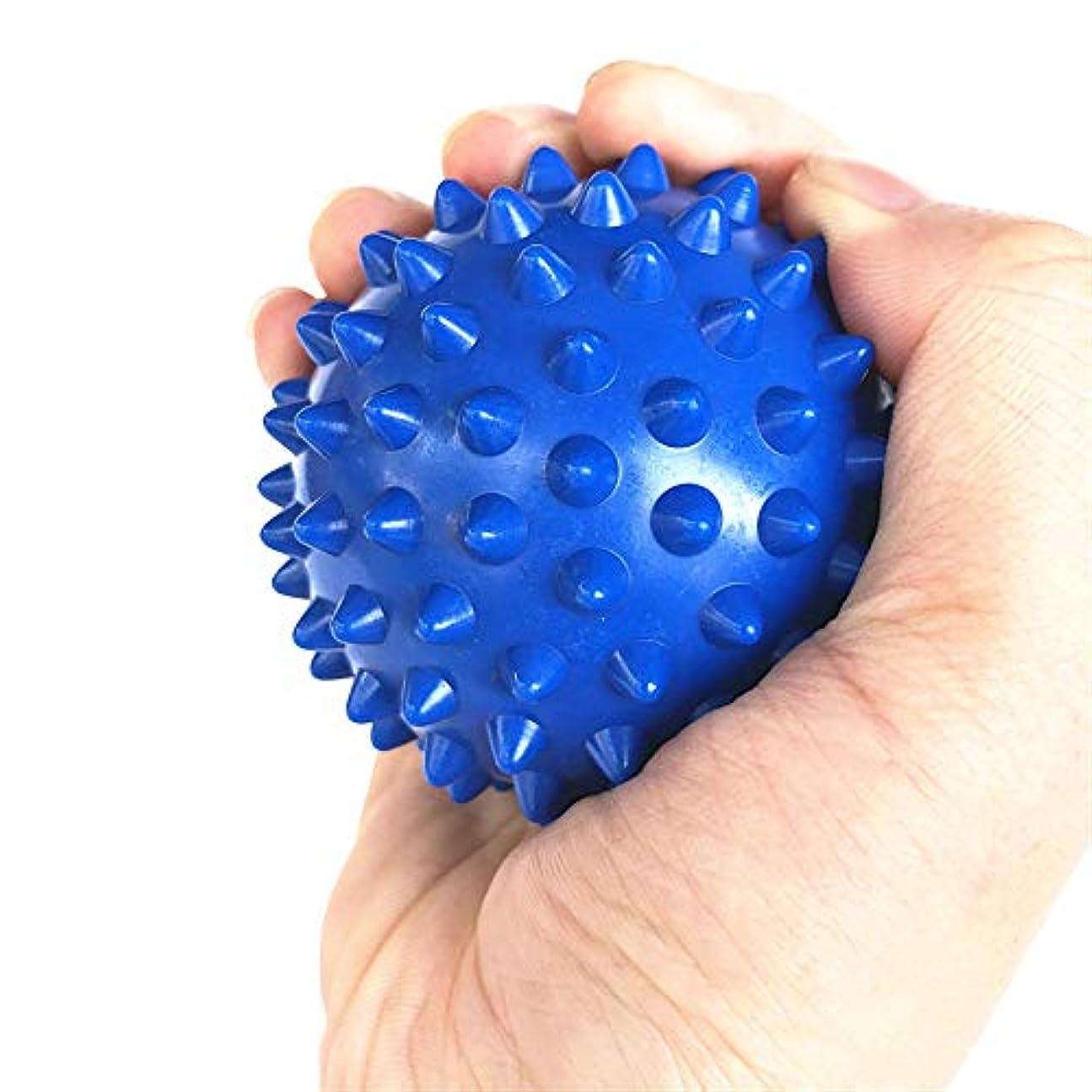 外交羊脳Tyou ラクロスボールテンションリリースマッサージボールのための足のマッサージボールのためのMyofasicalボールの運動ボールの青