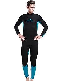 InitialG【イニシャルジー】ウェットスーツ メンズ フルスーツ ダイビングスーツ 3mm 水着 マリンスポーツ 水泳 スイムウエア 008-yr-1017(M)