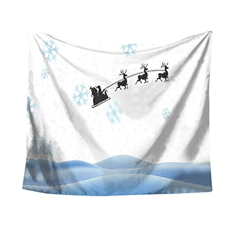 (プタス)Putars クリスマス タペストリー ビーチマット 壁掛け テーブルクロス MERRY CHRISTMAS 個性的 可愛い オシャレ ヨガマット レジャーシート ビーチ用ブランケット インテリア 74
