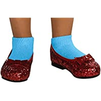 [ルービーズ]Rubie's Wizard of Oz Dorothy Deluxe Sequin Shoes 39920-P [並行輸入品]