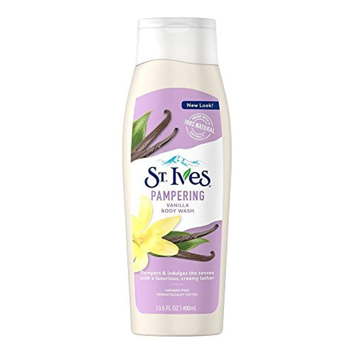 会社変化する規模St. Ives U-BB-1240 Creamy Vanilla Moisturizing Body Wash - 13.5 oz - Body Wash