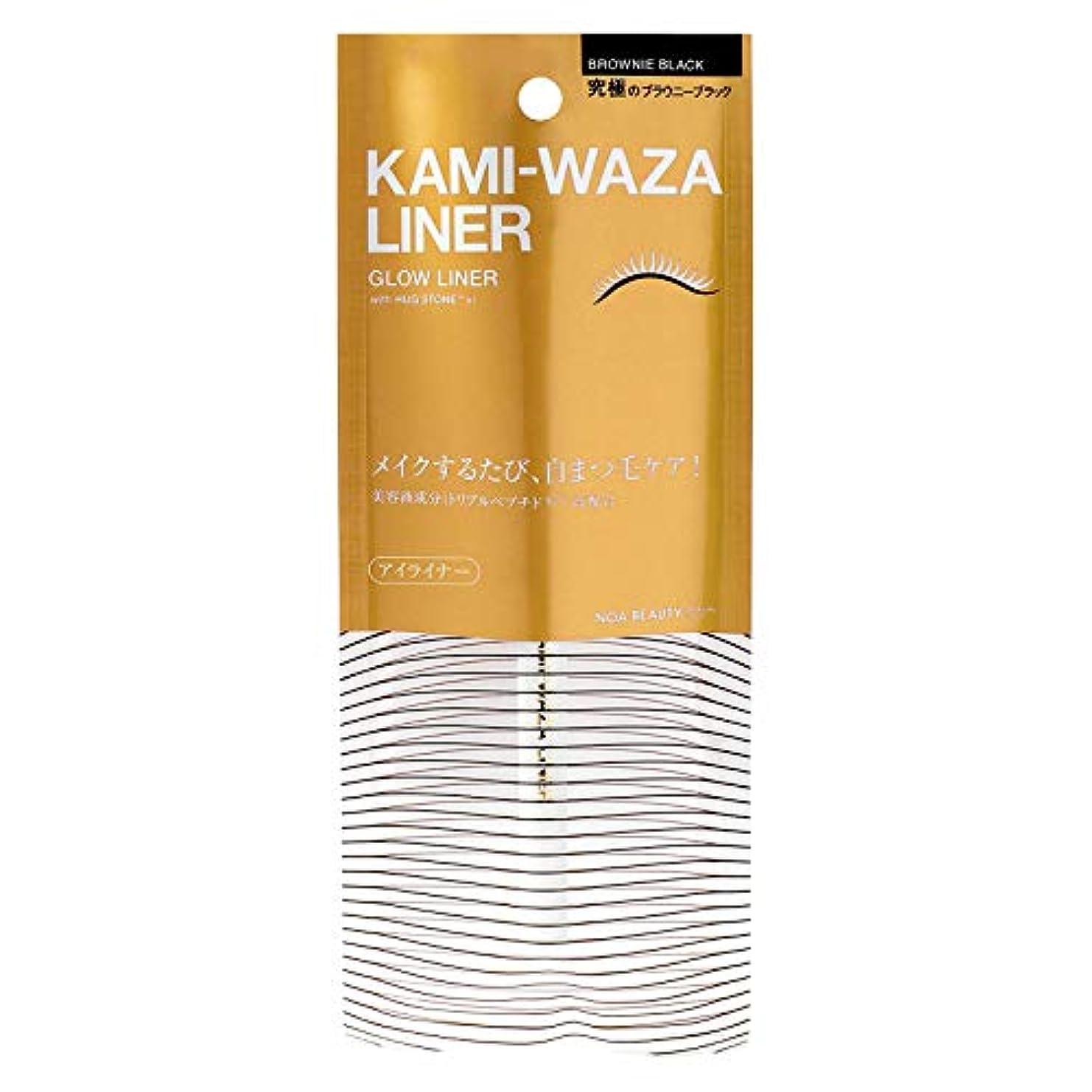 発表騙す危険を冒しますKAMI-WAZA(カミワザ) LINER 〈美容ライナー〉 KWL01 (0.5mL)