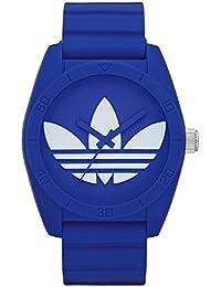 [アディダス オリジナルス] Adidas originals メンズ レディース SANTIAGO サンティアゴ ブルー×ホワイト ラバーベルト ADH6169 腕時計 [並行輸入品]