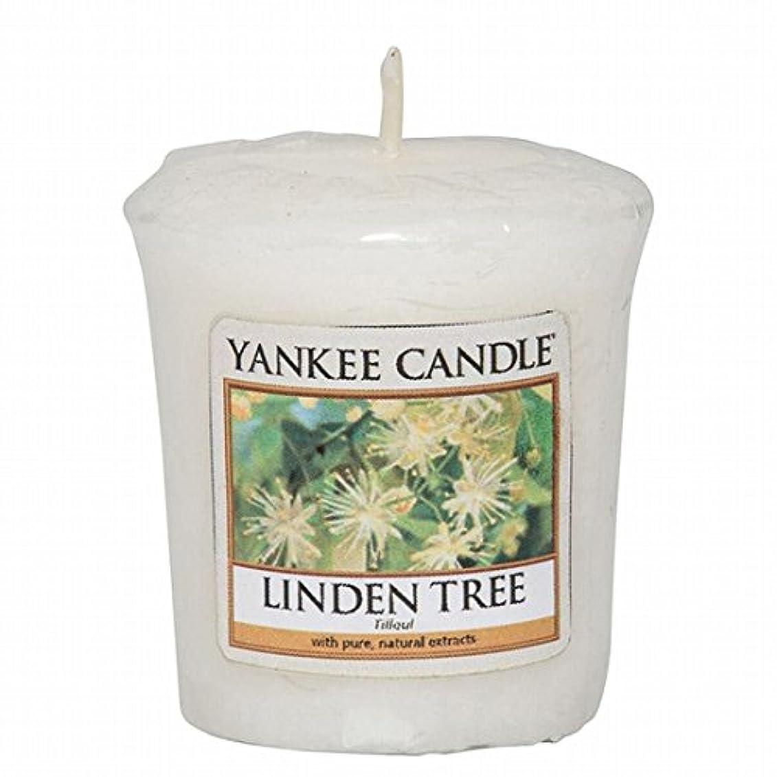 落ち着かない付添人オフェンスヤンキーキャンドル(YANKEE CANDLE) YANKEE CANDLE サンプラー 「リンデンツリー」
