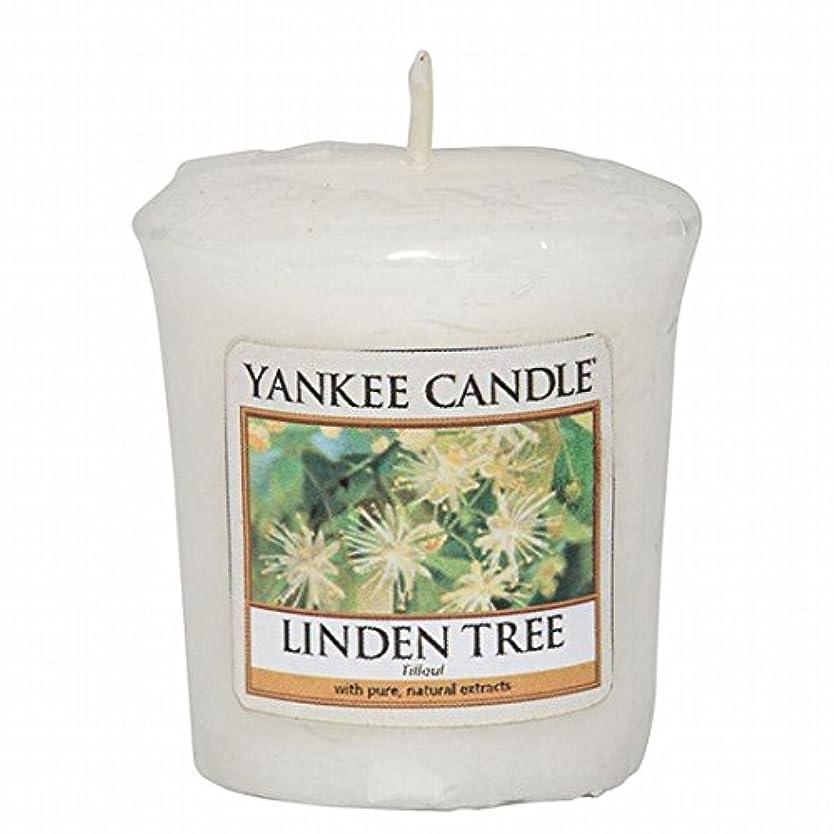 争う里親石灰岩ヤンキーキャンドル(YANKEE CANDLE) YANKEE CANDLE サンプラー 「リンデンツリー」