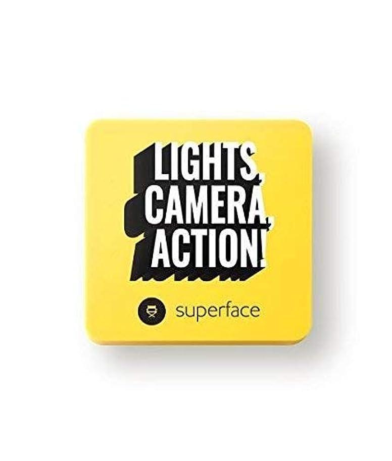 アクロバット首重要Superface ズームインメッシュクッション リフィル付き (01 ライト)
