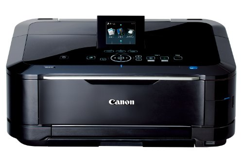 Canon インクジェット複合機 PIXUS MG6130BK 光でナビする新UI 6色W黒インク 自動両面印刷 前面給紙カセット 有線・無線LAN搭載 ブラック ハイパフォーマンスモデル