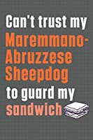 Can't trust my Maremmano-Abruzzese Sheepdog to guard my sandwich: For Maremmano-Abruzzese Sheepdog Breed Fans