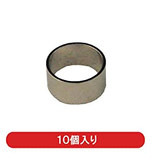 F型接栓用ニッケルリング 5C 丸型 10個入り
