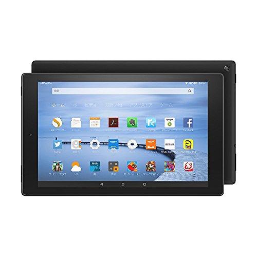 Fire HD 10 タブレット 32GB、ブラック(第5世代)
