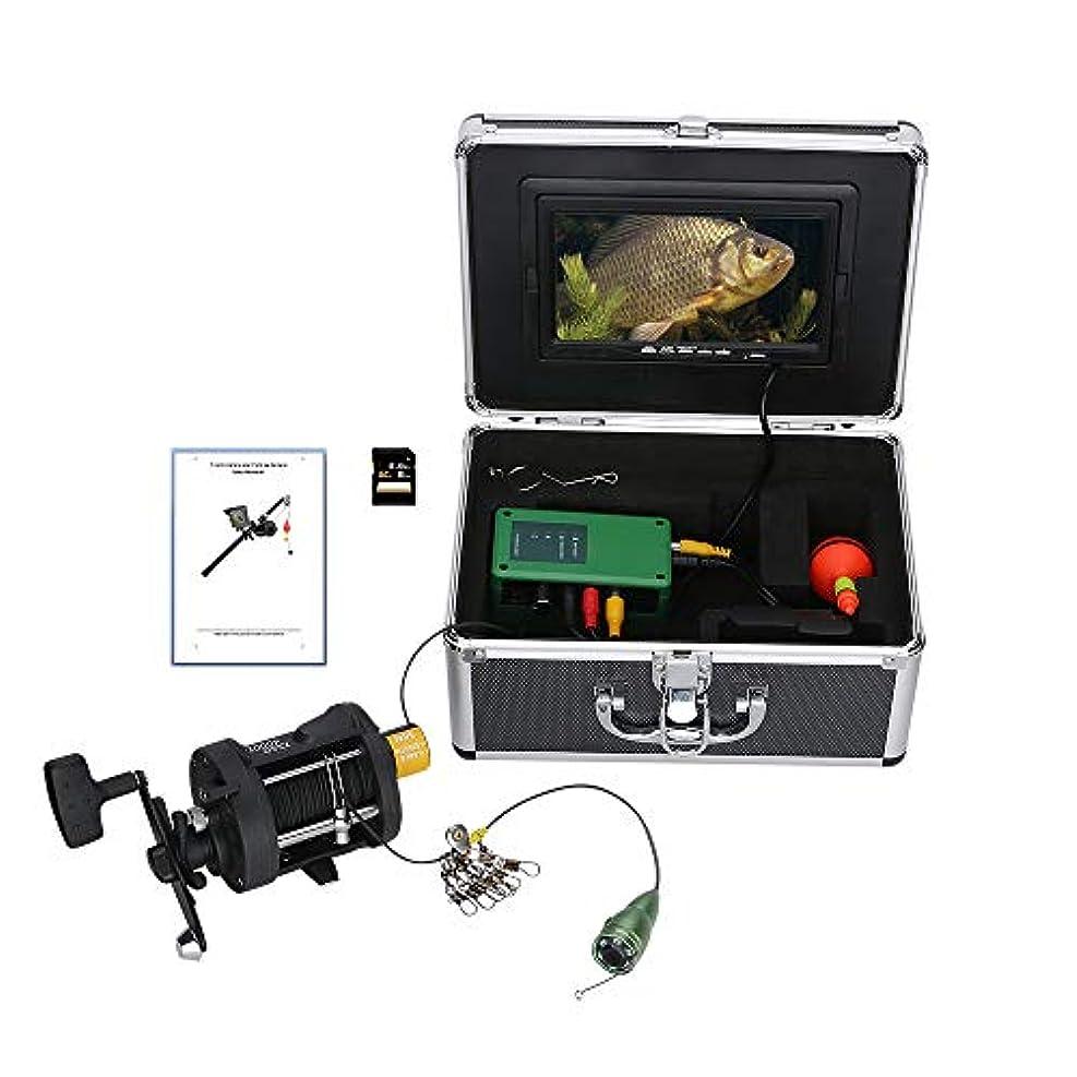 会う考古学者サンプル水中フィッシュファインダー HD 水中カメラ7インチ液晶モニター IP68 防水1000tvl 水中釣りカメラ (30m)