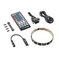 CableMod WideBeamハイブリッドLEDキット 30cm - RGB/UV