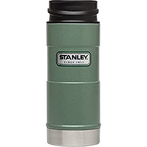 STANLEY スタンレー  クラシック ワンハンド 真空マグ 16oz 473mL グリーン [並行輸入品]