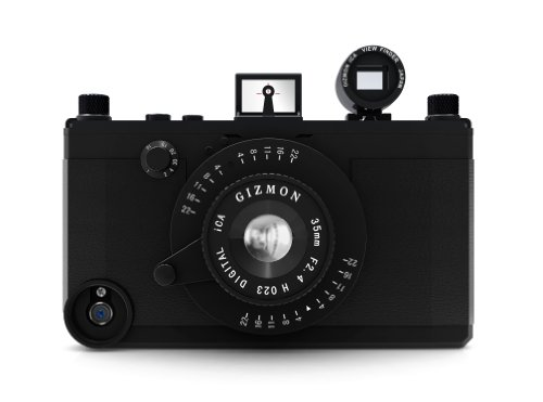 GIZMON SoftBank au iPhone4 4S用 カメラ型 ケース GIZMON NULL iCA (マットブラック) 10494