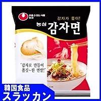 ジャガイモ麺117g/韓国大人気ラーメン/韓国ラーメン/インスタントラーメン/地震/防災/卵/辛いラーメン/韓国食品/韓国麺 [並行輸入品]