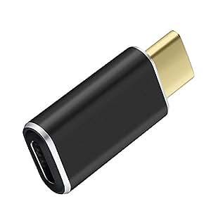 Qtuo USB2.0 Type C to Micro USB 24Pin (メス)アダプタ 変換コネクター USBケーブル 新しいMacBookに対応 充電や転送可能