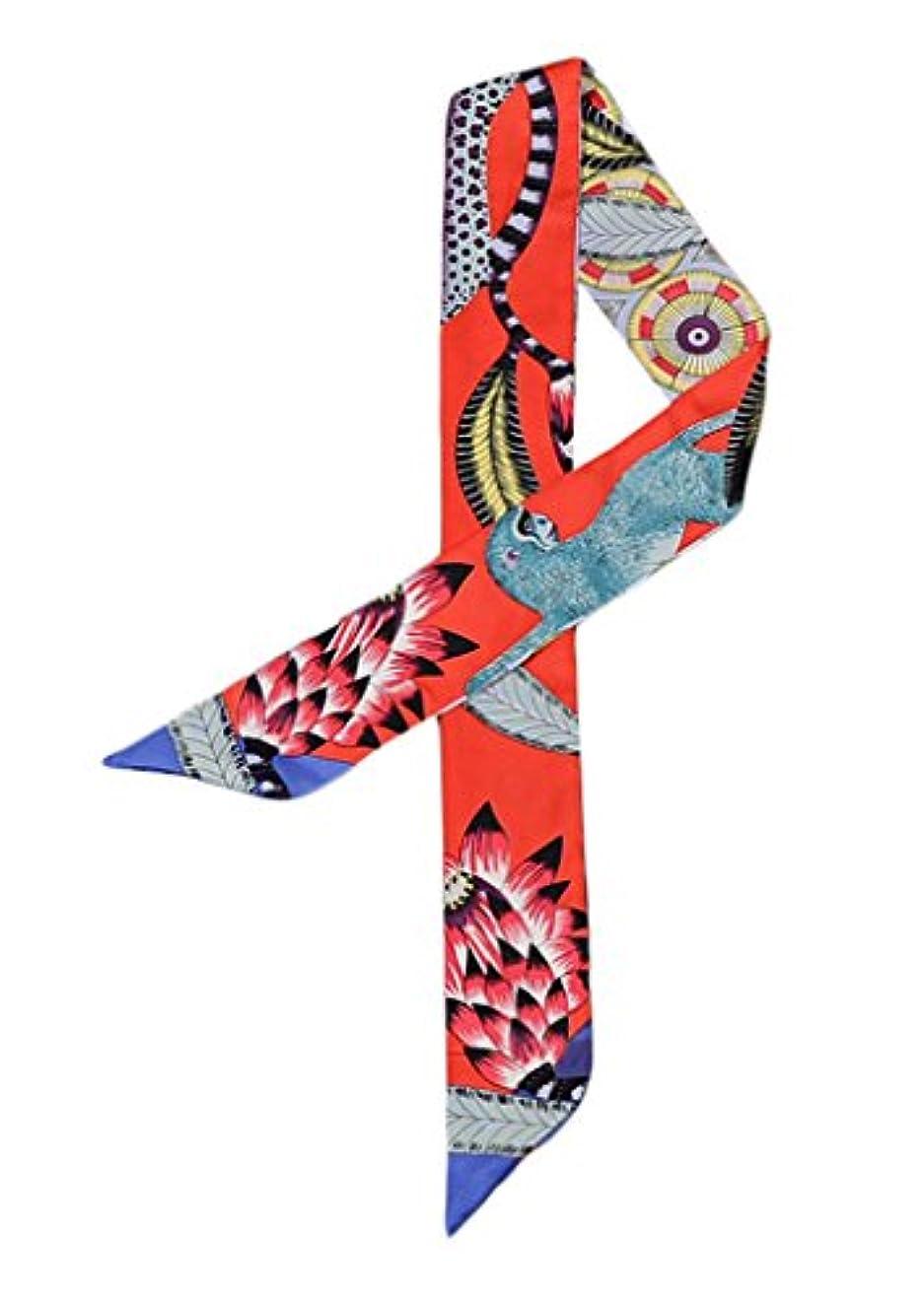 ジェームズダイソンインディカ陸軍YiyiLai アニマル風 バッグ用スカーフ アクセサリー ツイリー 多機能 飾り小物 リボン