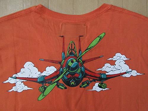 ジョジョの奇妙な冒険 第5部 ultra-violence コラボ Narancia Ghirga エアロスミス Tシャツ L JOJOナランチャAerosmithスタンド 荒木飛呂彦
