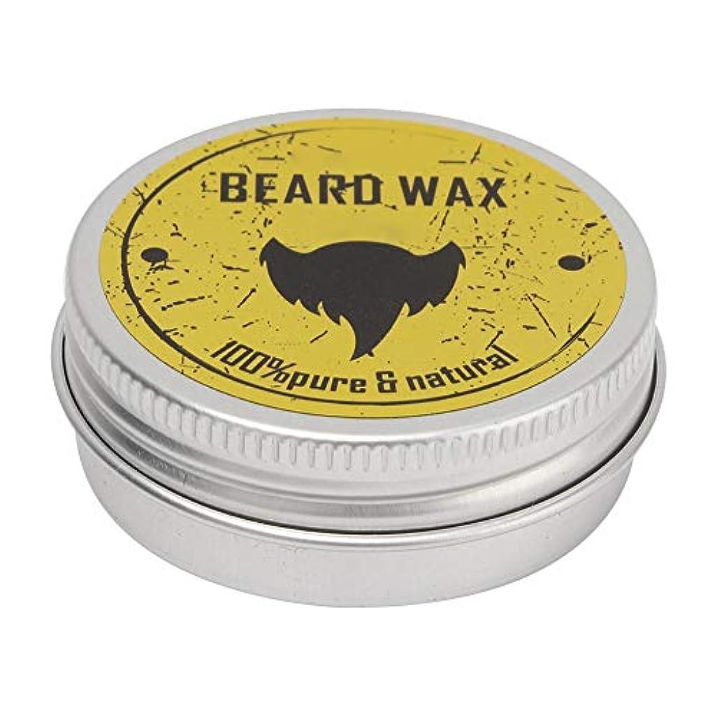 つま先急流弾力性のあるひげグルーミングワックス男性用口ひげケア成長コンディショナーバームディープモイスチャライジング栄養柔軟剤クリーム30ミリリットル