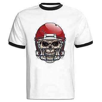 デレス メンズ Tシャツ 運動シャツ ラグビー スポーツ 綿 おもしろ 簡約 Small Black
