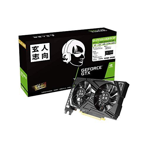 玄人志向 GeForce GTX 1650 B07QR8S6GF 1枚目