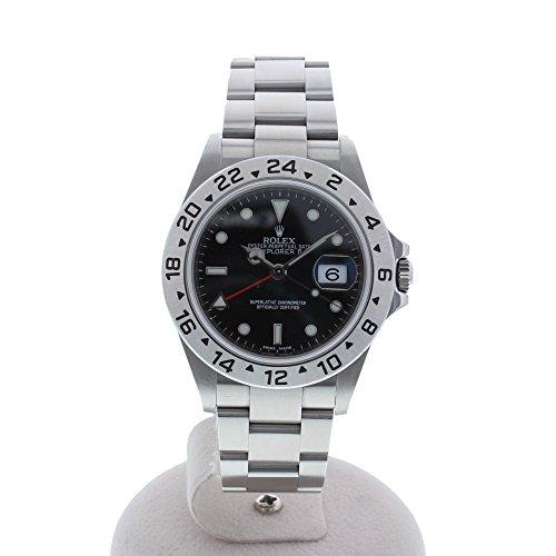 [ロレックス]ROLEX 腕時計 エクスプローラー2 黒文字盤 ランダム 16570 メンズ 中古
