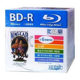 HIDISC BD-R 録画用5mmスリムケース10P HD...