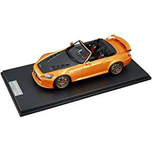 ONEMODEL 1/18 ホンダ S2000 ムゲン GP ブロンズホイール イモラ オレンジパール 完成品