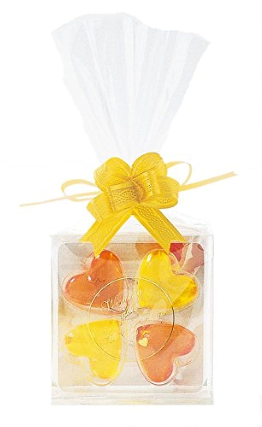 反発するアレンジ製造ジーピークリエイツ フォーチューンクローバー イエロー 入浴料セット(アプリコット、グレープフルーツ)