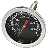 Onlyfire Professional BBQ Charcoal Smoker Gas Grill Oven Char-Grillers 52mm Thermometer Temperature Gauge
