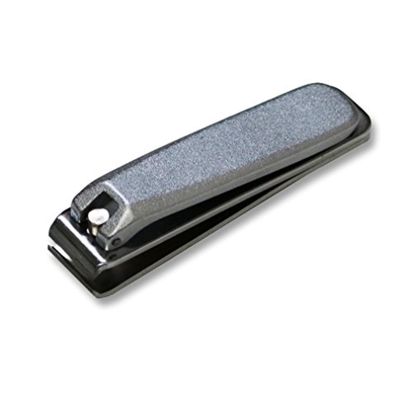 無駄だスリップシューズ先見の明KD-033 関の刃物 クローム爪切 直刃 大 カバー無