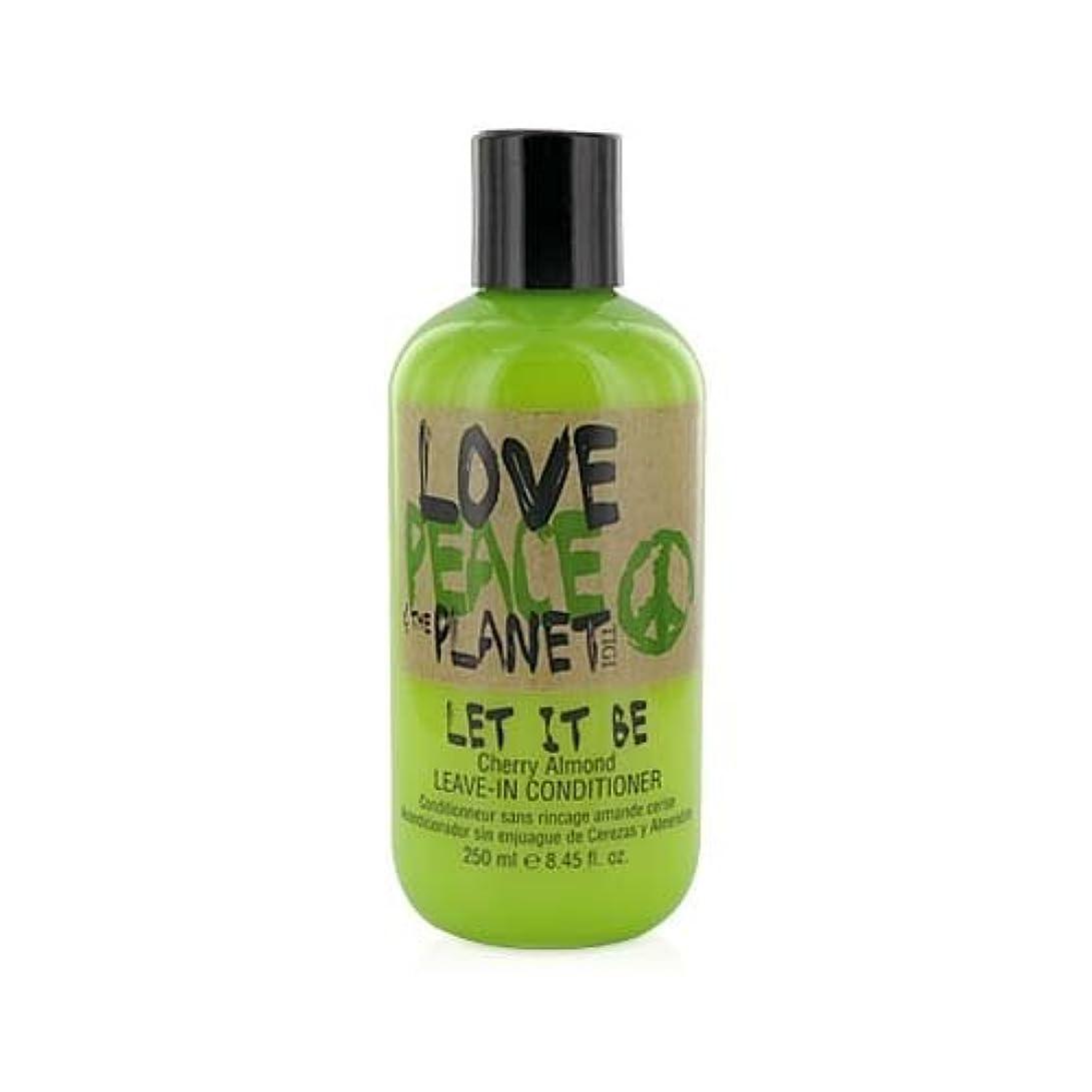 交換可能実質的豊富にTIGI Love Peace and The Planet Let It Be Cherry Almond Leave-in Conditioner 250 ml (並行輸入品)