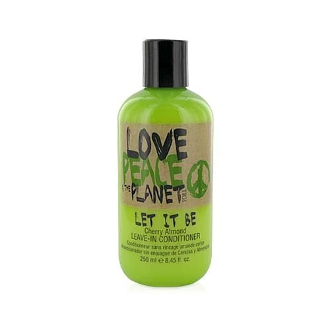 狂った倫理スーパーTIGI Love Peace and The Planet Let It Be Cherry Almond Leave-in Conditioner 250 ml (並行輸入品)