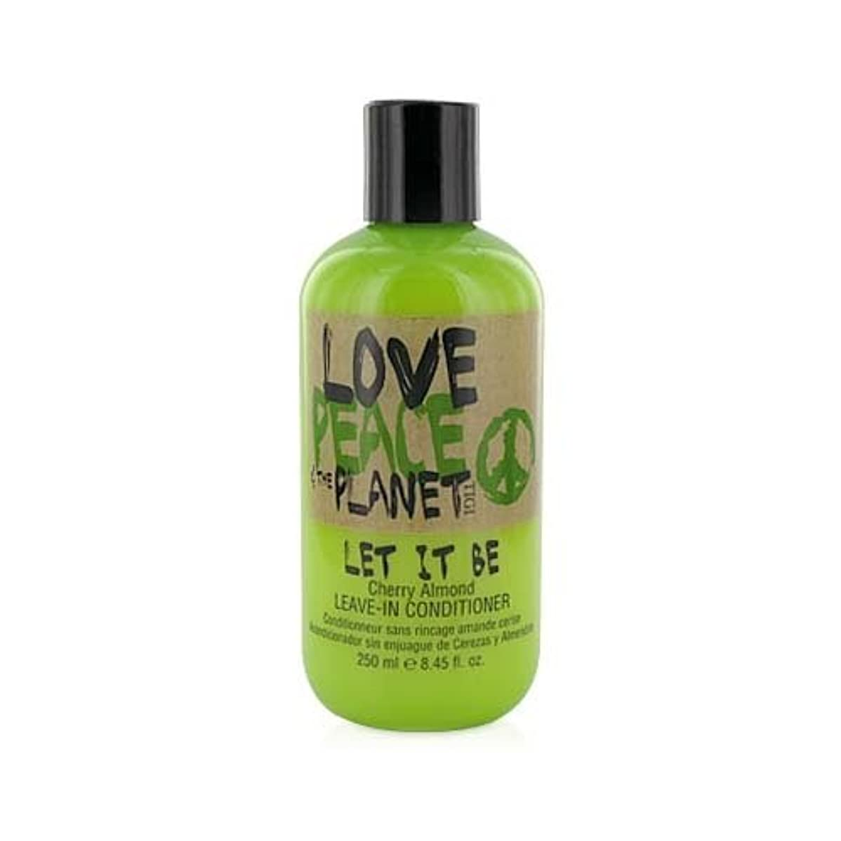 活気づく加速するによってTIGI Love Peace and The Planet Let It Be Cherry Almond Leave-in Conditioner 250 ml (並行輸入品)