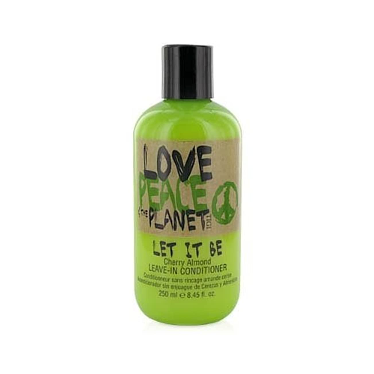 TIGI Love Peace and The Planet Let It Be Cherry Almond Leave-in Conditioner 250 ml (並行輸入品)