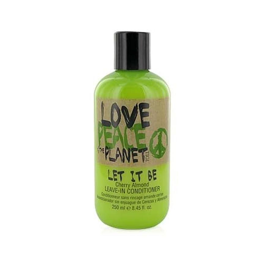 一般的な理想的にはさせるTIGI Love Peace and The Planet Let It Be Cherry Almond Leave-in Conditioner 250 ml (並行輸入品)