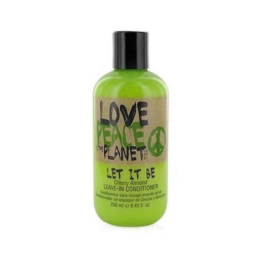 ケイ素好奇心盛失業者TIGI Love Peace and The Planet Let It Be Cherry Almond Leave-in Conditioner 250 ml (並行輸入品)