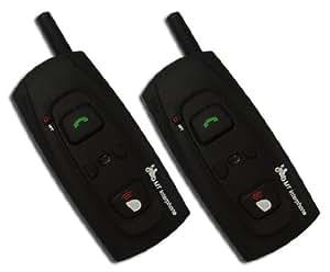Bluetooth 対応 バイクインカム インターコム 500m通話 2機セット