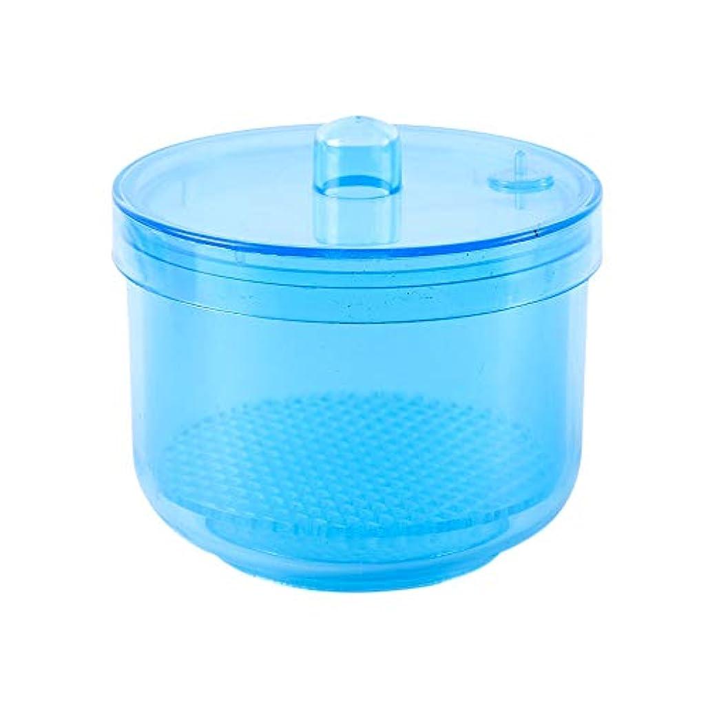 SODIAL 1ピースネイル/ニードル消毒消毒収納ボックスネイル/ニードルビットクリーニングツールアクセサリーマニキュアクリーンネイル/ニードルツールカラーランダム