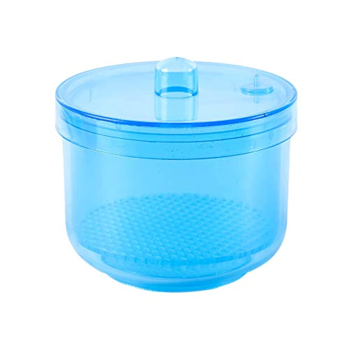 再生的管理するフロントCUHAWUDBA 1ピースネイル/ニードル消毒消毒収納ボックスネイル/ニードルビットクリーニングツールアクセサリーマニキュアクリーンネイル/ニードルツールカラーランダム
