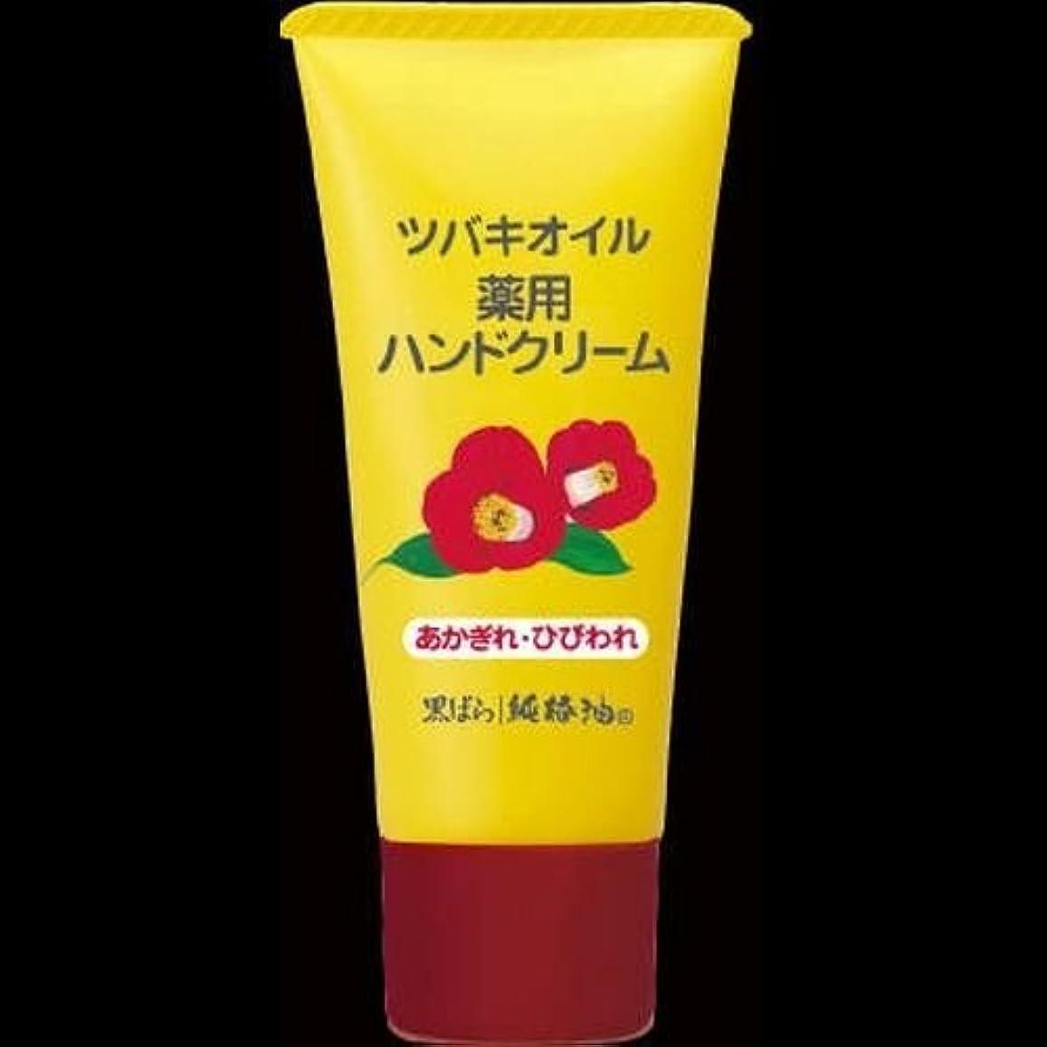 不利益司書甘い【まとめ買い】黒ばら本舗 椿オイルハンドクリーム 35g ×2セット