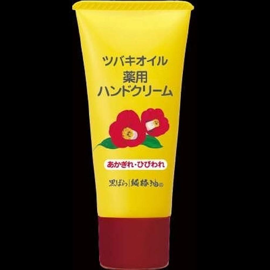 エイズ労働マオリ【まとめ買い】黒ばら本舗 椿オイルハンドクリーム 35g ×2セット