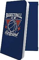 iPhoneXR/iPhoneXS Max ケース 手帳型 バスケ バスケット バスケットボール ボール スポーツ デザイン イラスト アイフォン アイフォーン アイホン テンアール テンエス マックス 手帳型ケース ユニーク おもしろ おもしろケース iphone xr xs xsmax かっこいい
