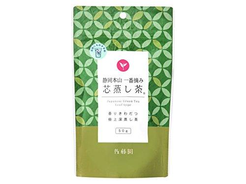 佐藤園 静岡本山 一番摘み 「芯蒸し茶」50g