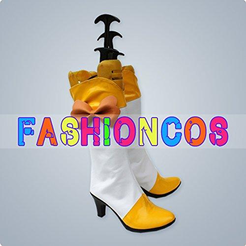 ★サイズ選択可★男性26.5CM UA0355 プリキュアシリーズ スマイルプリキュア! キュアピース 黄瀬 やよい コスプレ靴 ブーツ