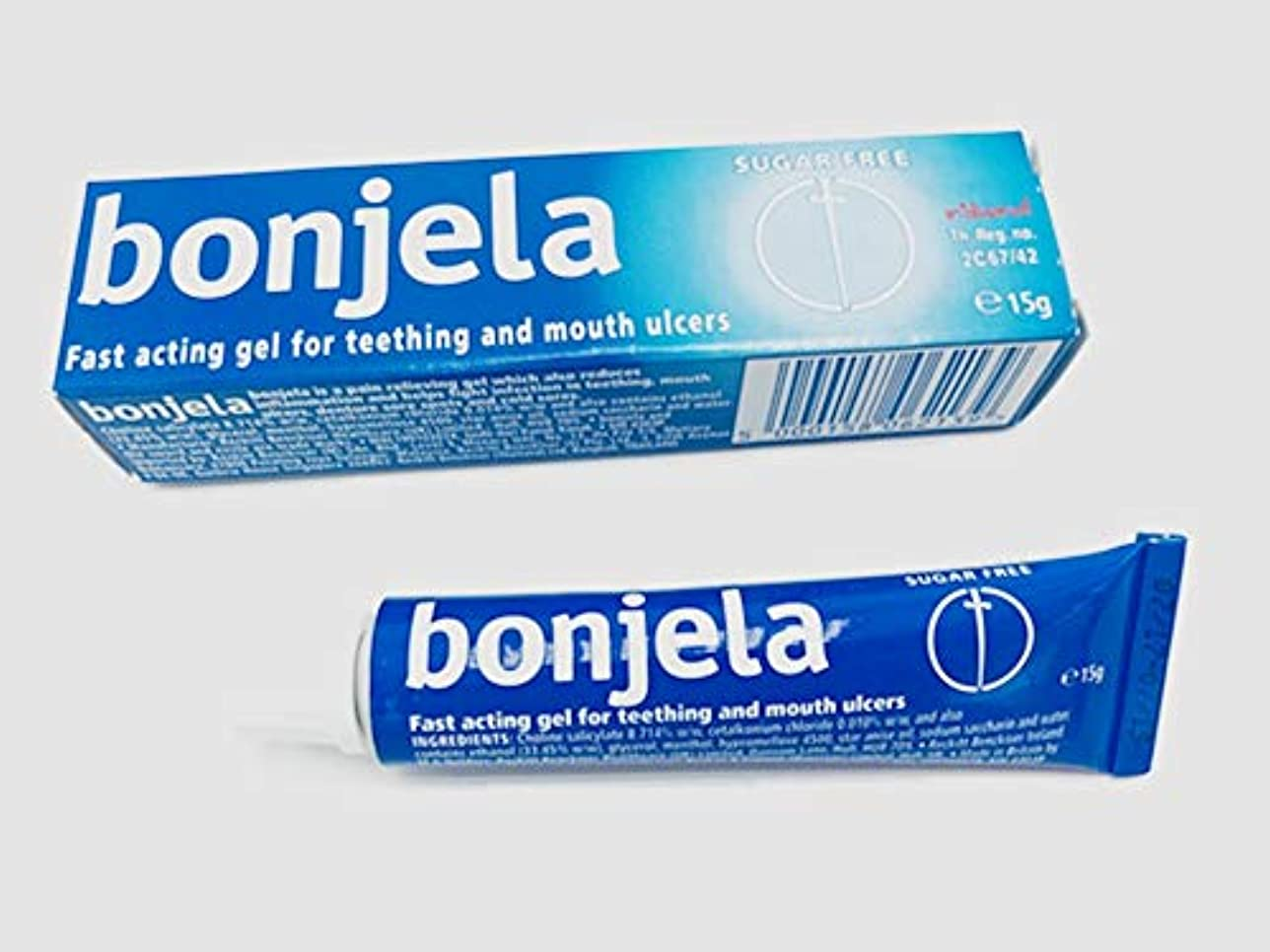保険をかける公使館インスタンスBonjela Tooth and Mouth Ulcer 歯と口の潰瘍 15g.