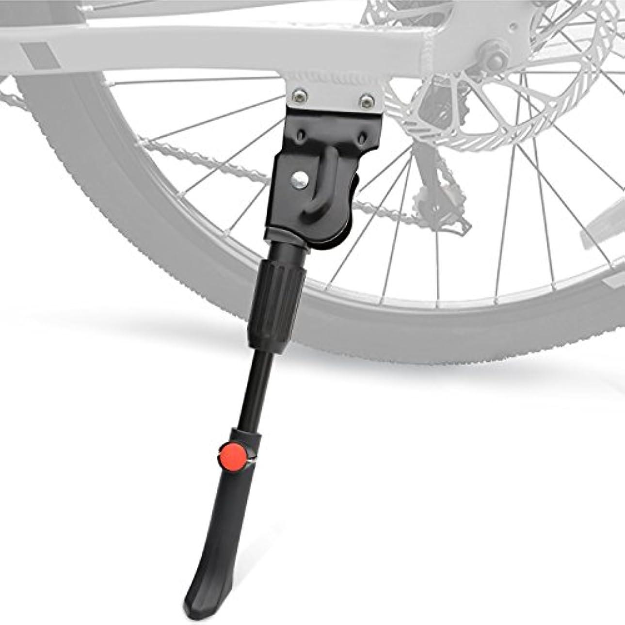 レビュアー家主技術的なTOPCABIN 自転車キックスタンド 調節可能 自転車キックスタンド 自転車サイドキックスタンド 自転車 20インチ - 27インチ マウンテンロードバイク/BMX/MTB用