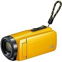 JVCKENWOOD JVC ビデオカメラ Everio 耐衝撃 耐低温 32GB イエロー GZ-F270-Y